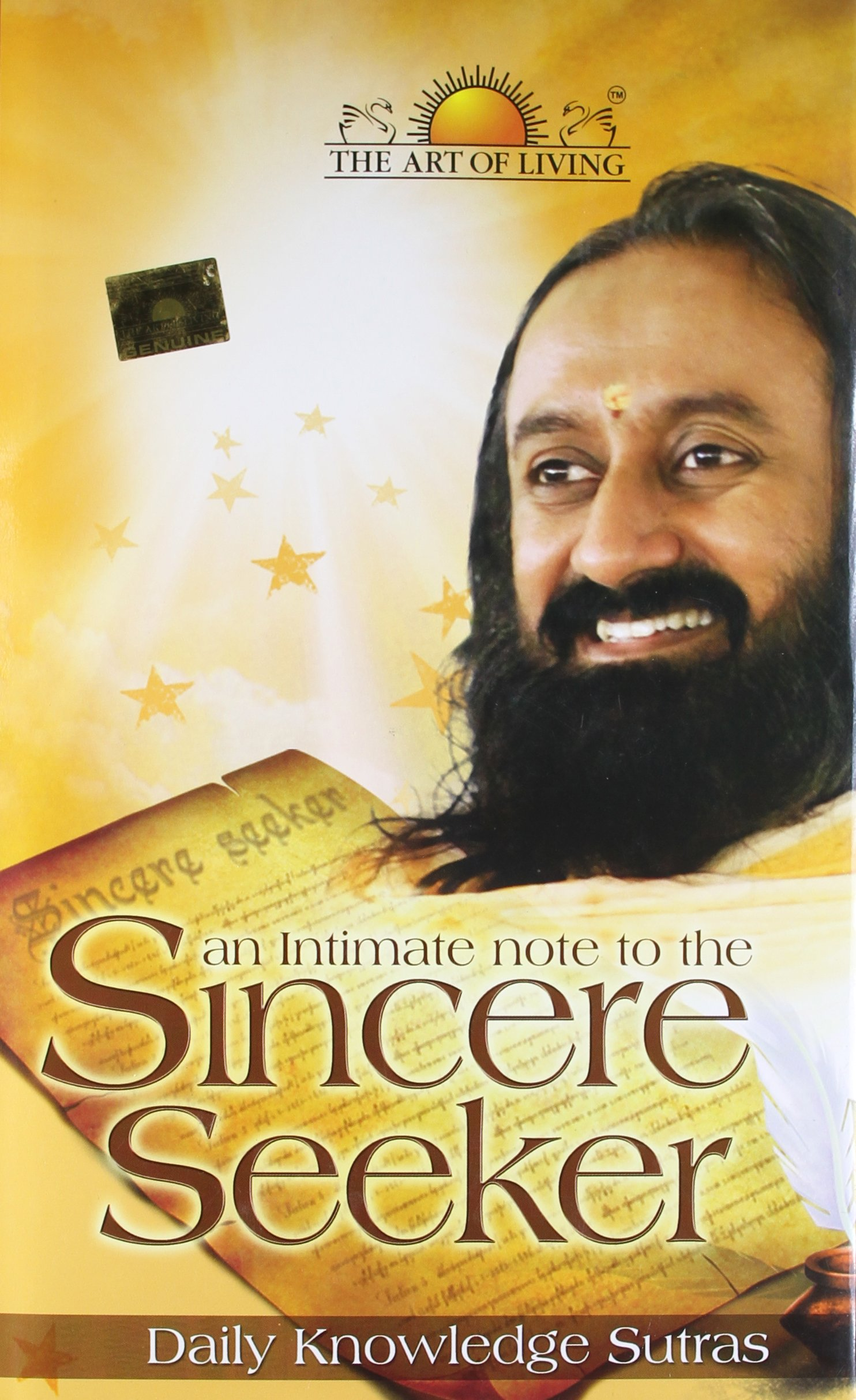 AN INTIMATE NOTE TO THE SINCERE SEEKER- DAILY KNOWLEDGE SUTRAS