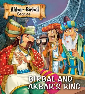 Square Book Series : Akbar-Birbal Stories : BIRBAL & AKBAR'S RING