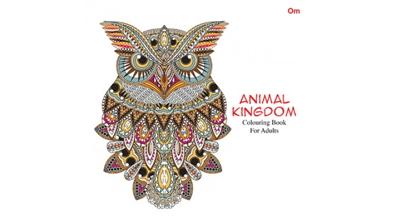 Coloring Book For Adults : ANIMAL KINGDOM