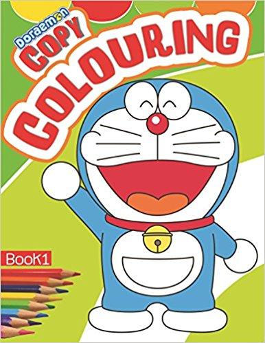 DORAEMON - Copy Colouring- BOOK - 1