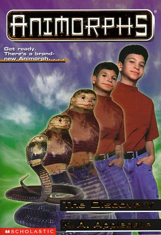 SCHOLASTIC'S ANIMORPHS # 20: THE DISCOVERY: GET READY. THERE'S A BRAND NEW ANIMORPH