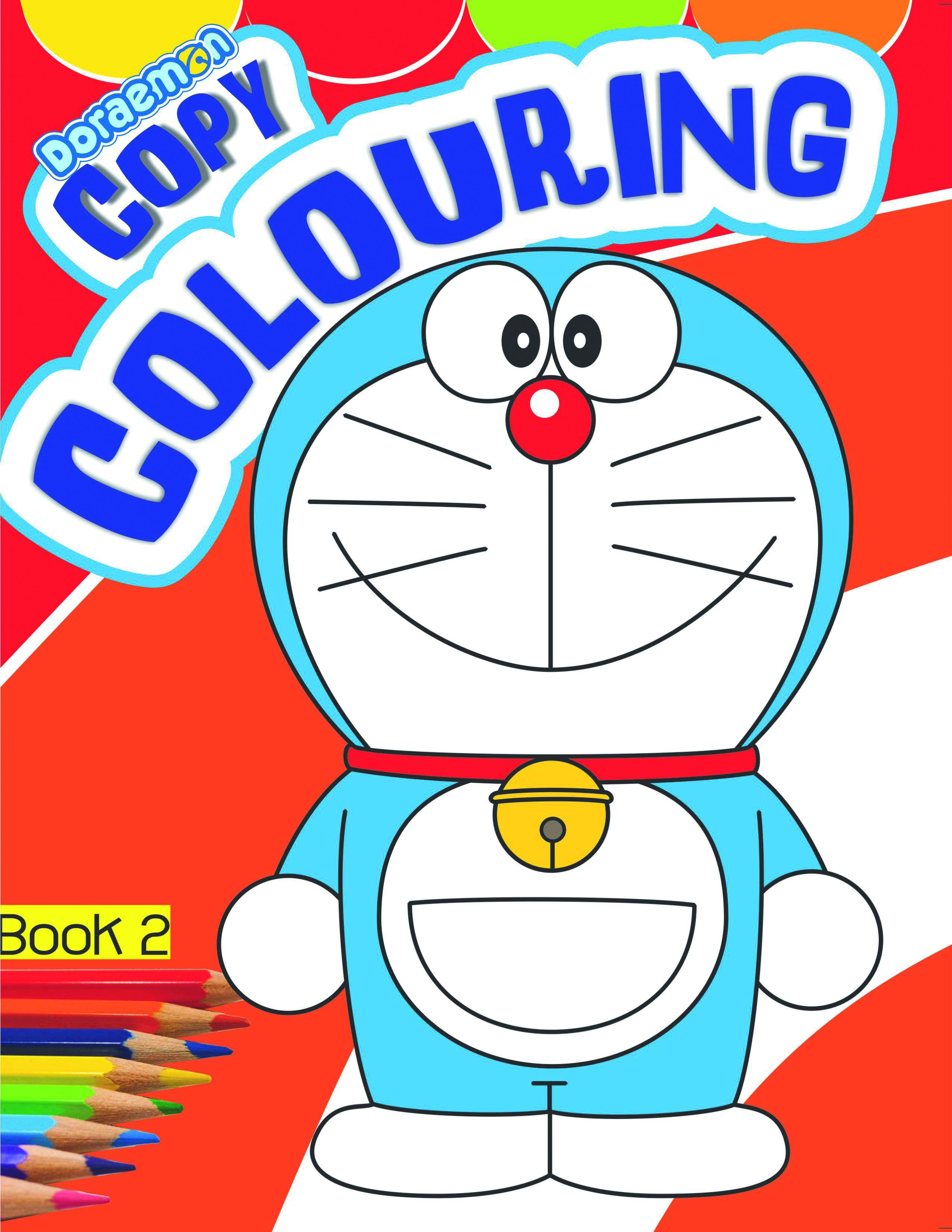 DORAEMON - Copy Colouring- BOOK - 2