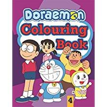 DORAEMON COLOURING BOOKS4