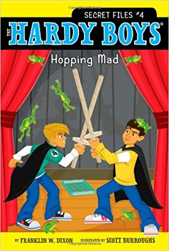 THE HARDY BOYS - SECRET FILES # 4 - HOPPING MAD