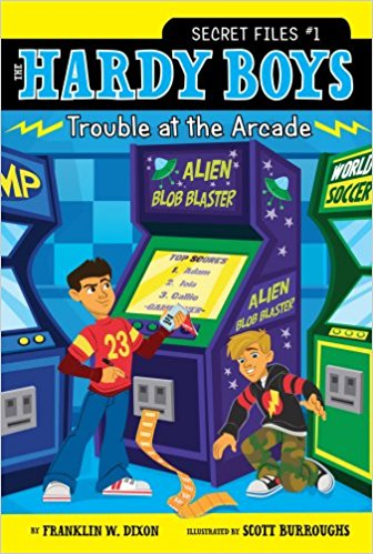 THE HARDY BOYS - SECRET FILES # 1 - UNDER TROUBLE AT THE ARCADE