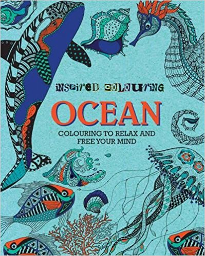 Inspired Colouring OCEAN colouring to relax and free your mind