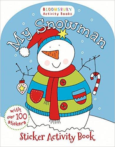 MY SNOWMAN STICKER ACTIVITY BOOK