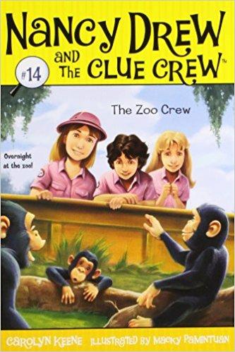NANCY DREW AND THE CLUE CREW #14 - THE ZOO CREW