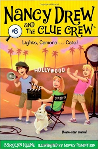NANCY DREW AND THE CLUE CREW # 8 - LIGHTS CAMERA... CATS
