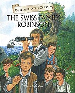 Om Illustrated Classics: SWISS FAMILY ROBINSON