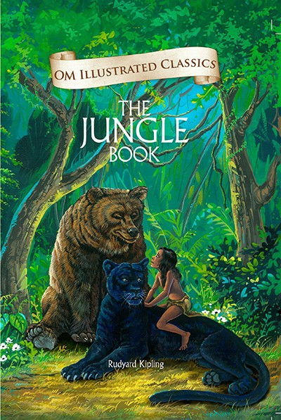 Om Illustrated Classics: THE JUNGLE BOOK - with an introduction by Ruskin Bond