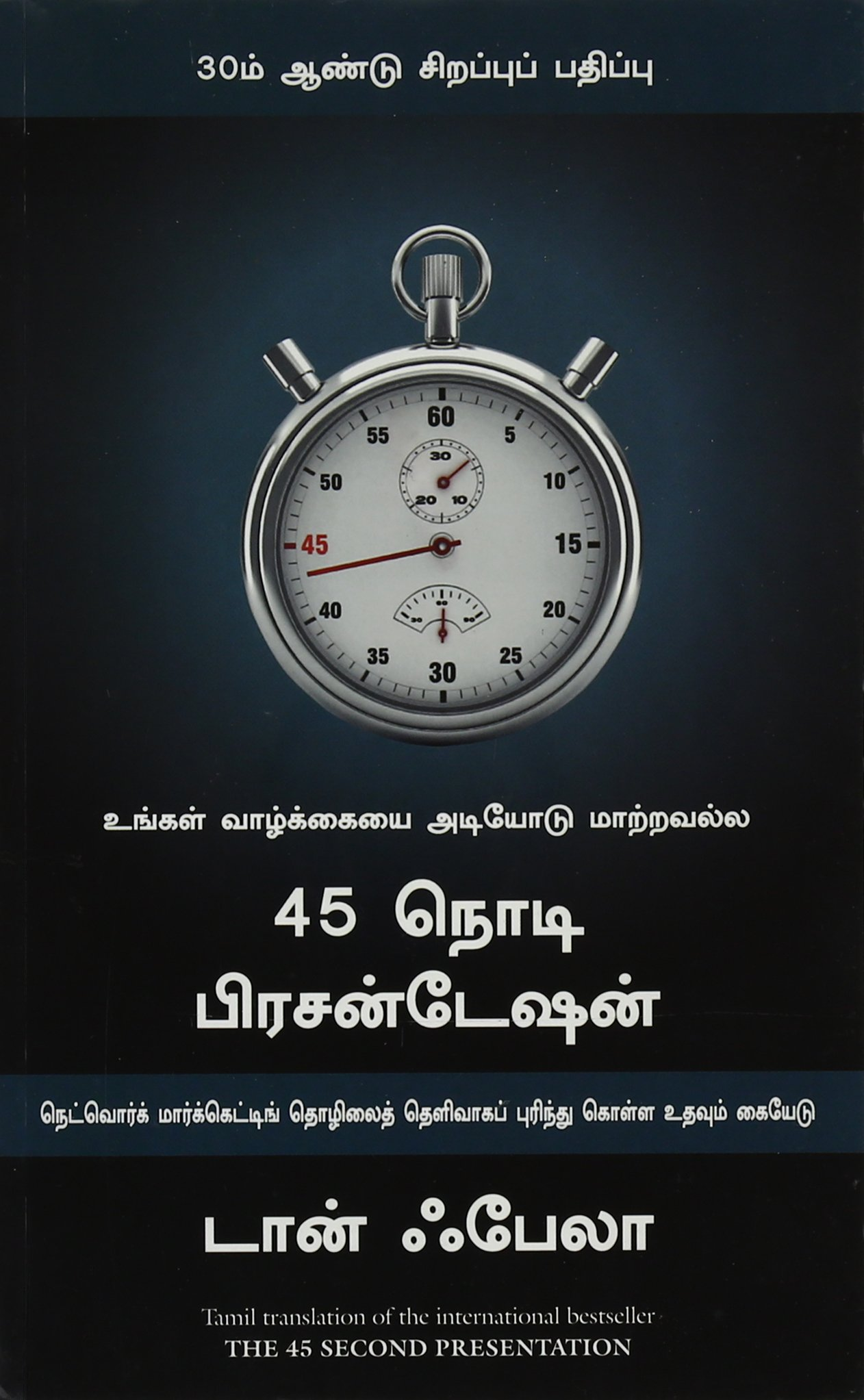 THE 45 SECOND PRESENTATION - Tamil - உன் வாழ்க்கையை அடியோடு மாற்றவல்ல 45 நொடி பிரசன்டேஷன்