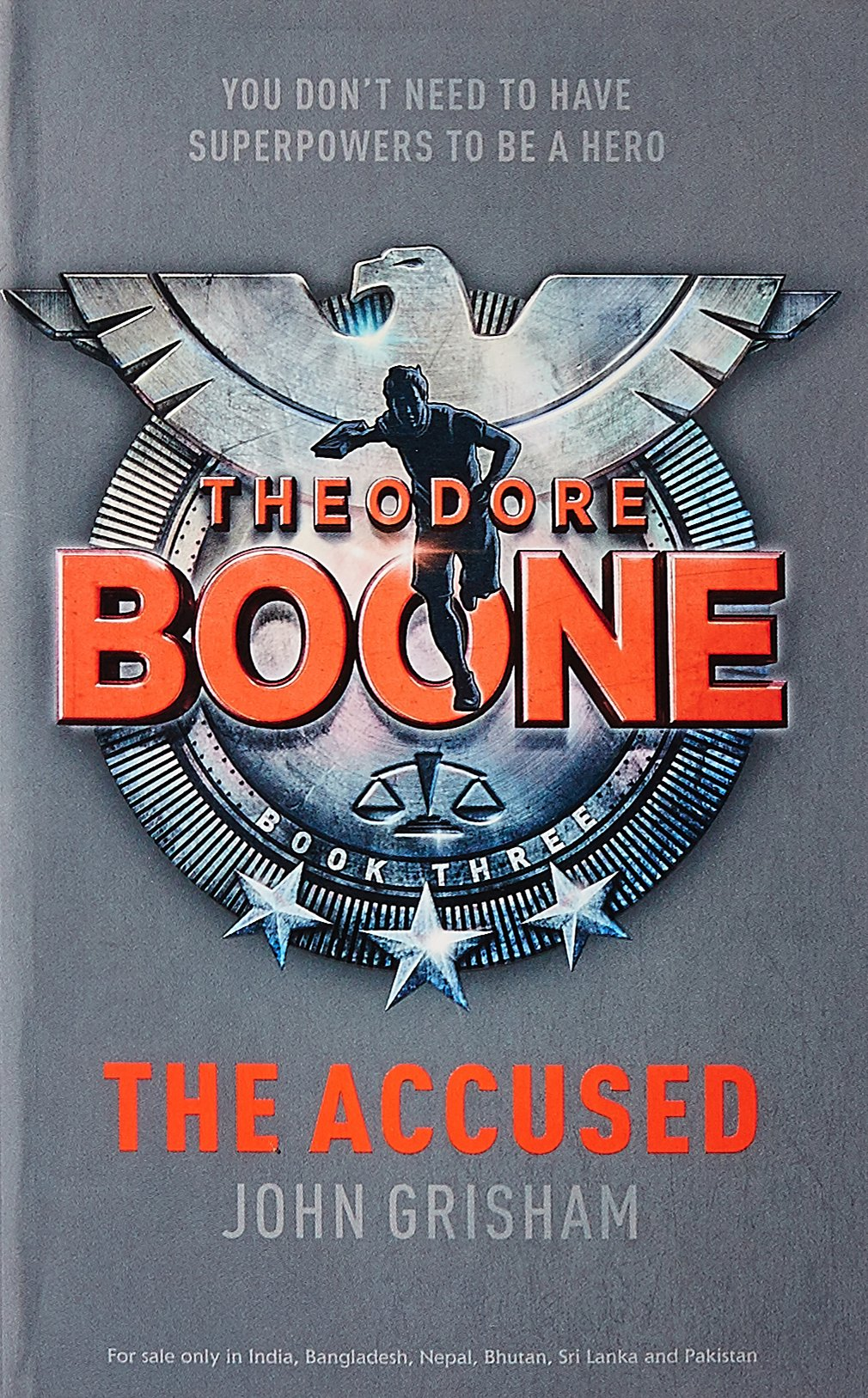 THEODORE BOONE : THE ACCUSED - Half the Man, Twice the Lawyer