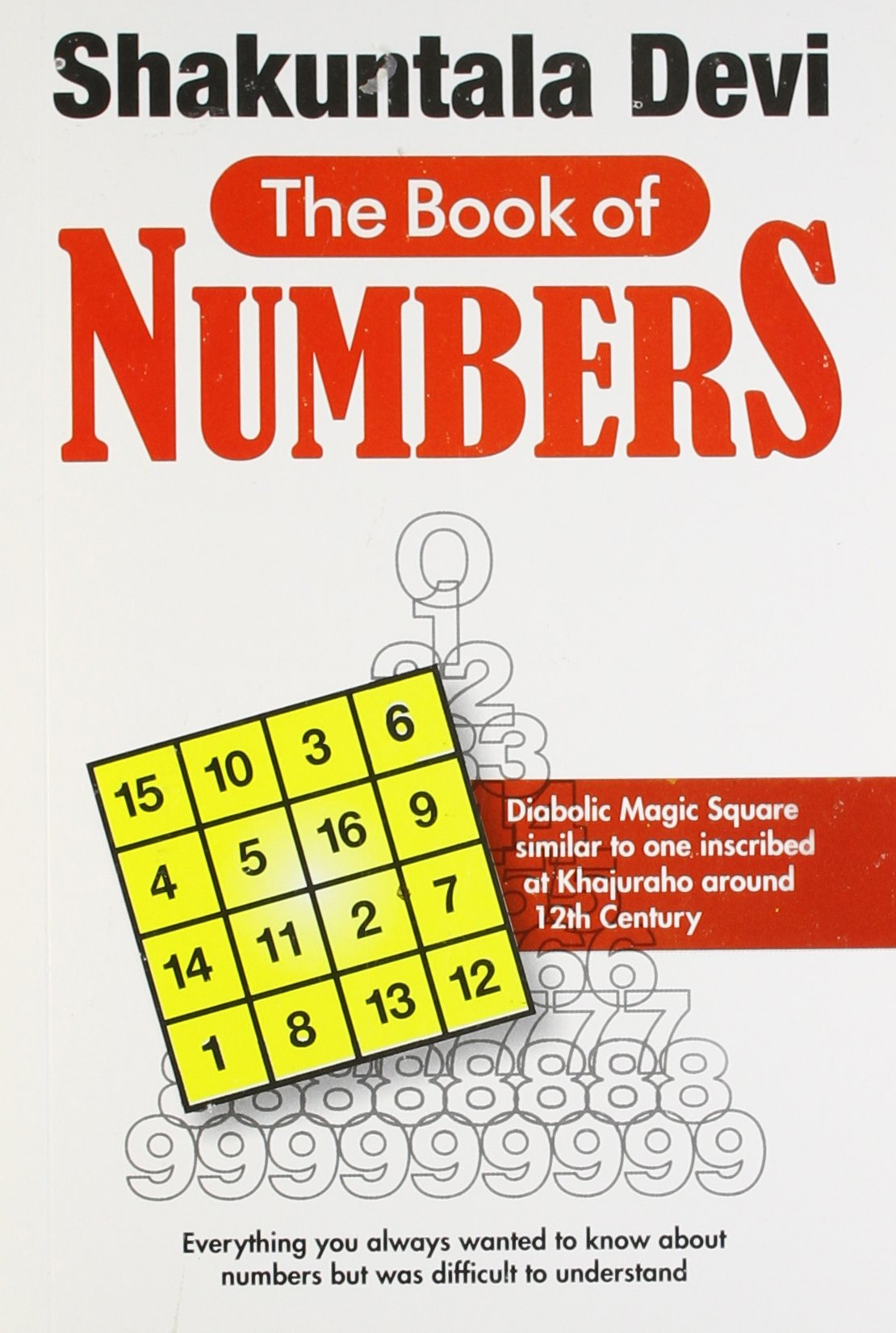 THE BOOK OF NUMBERS - Everything about Numbers. Diabolic Magic Square.