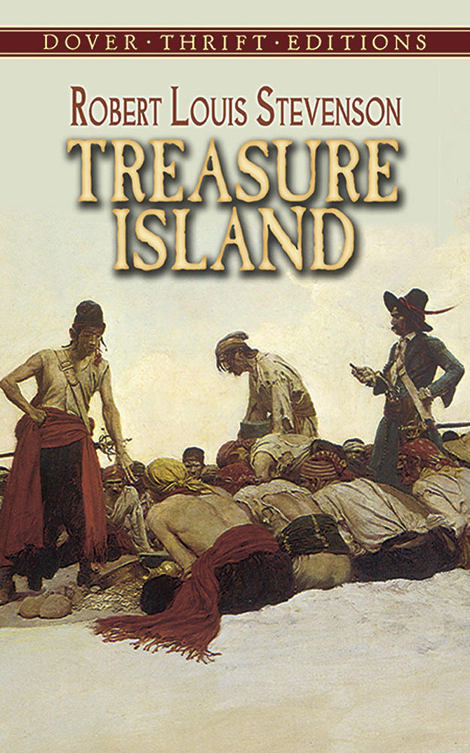 TREASURE ISLAND - Dover Thrift Editions