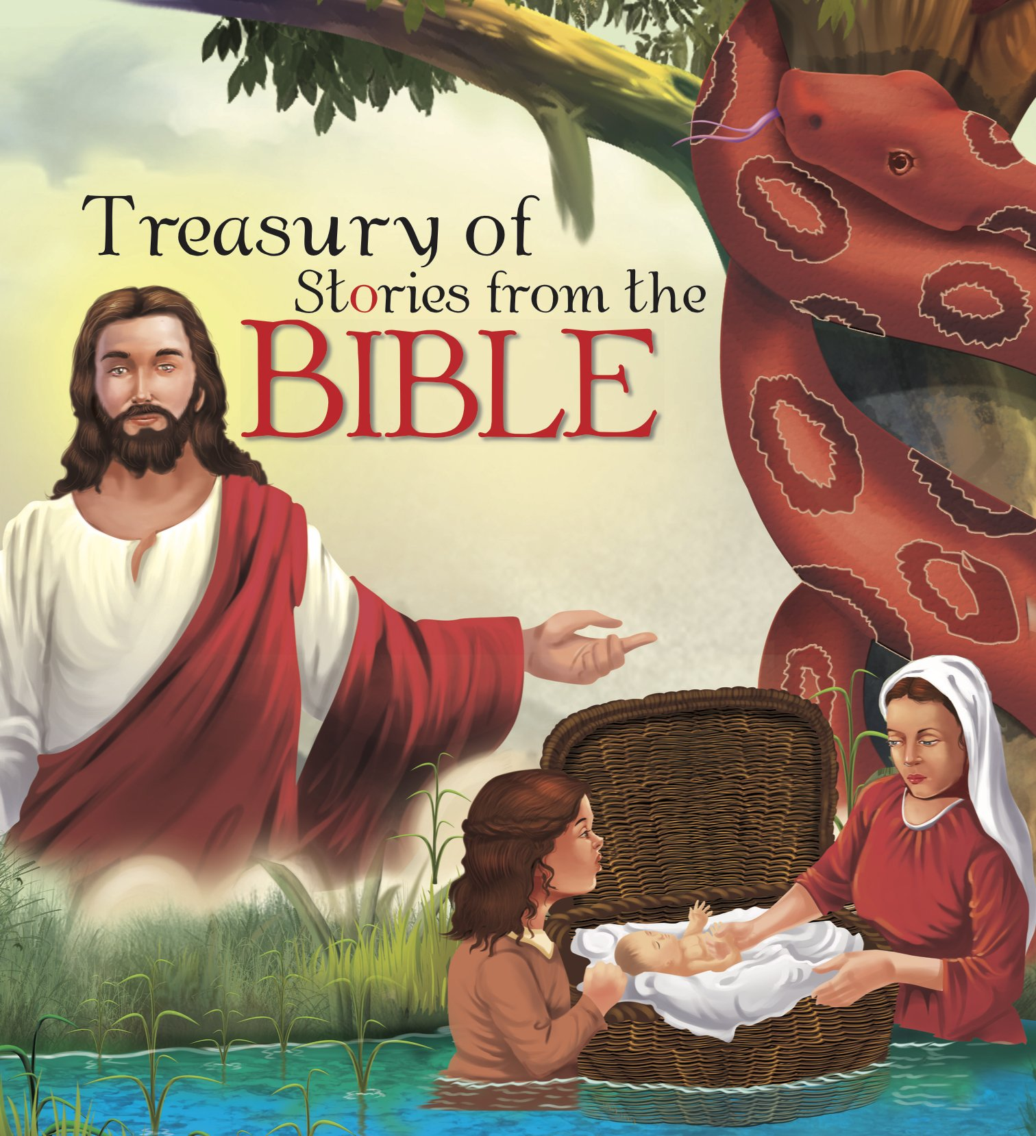 TREASURY OF STORIES FROM THE BIBLE