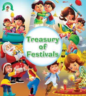 Square Book Series: THE WORLD OF FESTIVALS; TREASURY OF FESTIVALS