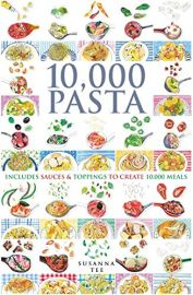 10,000 PASTA - Includes Sauces and Toppings to Create 10,000 Meals.