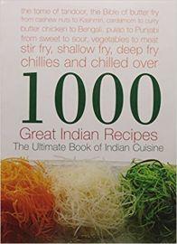 1000 Great Indian Recipes - Master Chefs of India,  Neeta Datta