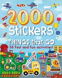 2000 STICKERS THINGS THAT GO 36 fast and fun activities!