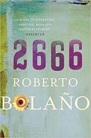 2666 by ROBERTO BOLANO a spanish novel translated