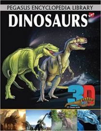 Pegasus Encyclopedia Library DINOSAURS 3D 3D glass inside