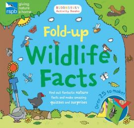 RSPB- FOLD-UP WILDLIFE FACTS-FIND OUT FANTASTIC NATURE FACTS AND MAKE AMAZING QUIZZES AND SURPRISES- OVER 25 TO MAKE