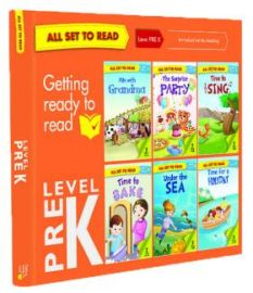 All Set to Read - Level PRE K - SET OF 6 BOOKS