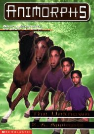 SCHOLASTIC'S ANIMORPHS # 14: THE UNKNOWN: NEVER UNDER ESTIMATE THE POWER OF MORPH