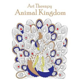 Art Therapy - ANIMAL KINGDOM - Colouring Book Series - Adult