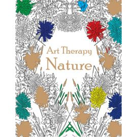Art Therapy - NATURE - Colouring Book Series - Adult