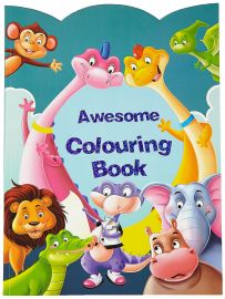 AWESOME COLOURING BOOK