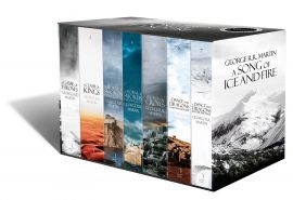 A SONG OF ICE AND FIRE - A GAME OF THRONES BOXSET - THE STORY CONTINUES : A GAME OF THRONES, A CLASH OF KINGS, A STORM OF SWORDS, A FEAST FOR CROWS, A DANCE WITH DRAGONS