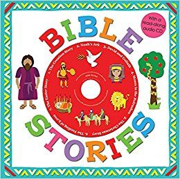 BIBLE STORIES with a read along Audio CD by ROGER PRIDDY