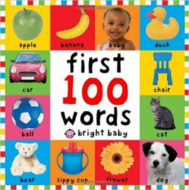FIRST 100 WORDS - BRIGHT BABY - By Roger Priddy