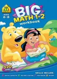 Big - MATH 1-2  WORKBOOK - For Ages 6-8