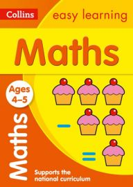 COLLINS EASY LEARNING:  MATHS - Ages 4-5 and Supports the National Curriculum - New edition