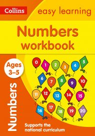 COLLINS EASY LEARNING: NUMBERS WORKBOOK - Ages 3-5  and Supports the National Curriculum