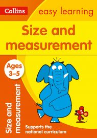 COLLINS EASY LEARNING: SIZE AND MEASUREMENT - Ages 3-5