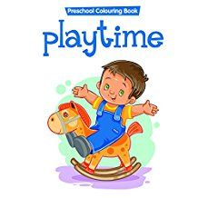 COLOURING BOOK - PLAYTIME