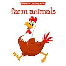 COLOURING BOOK - FARM ANIMALS