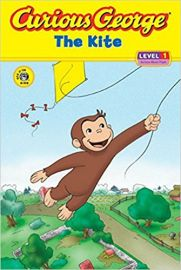 Curious George Series THE KITE  LEVEL 1 by HANS REY & MARGRET REY curious about flight