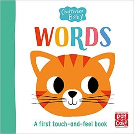 Chatterbox Baby: Words: A bright and bold touch-and-feel book to share