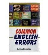 Common English Errors - Latika Banerjee
