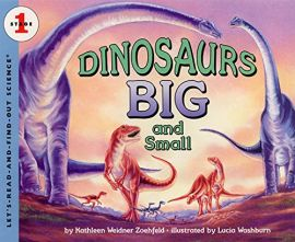 DINOSAURS - BIG AND SMALL - Stage 1 - Let's-Read-And-Find-Out-Science