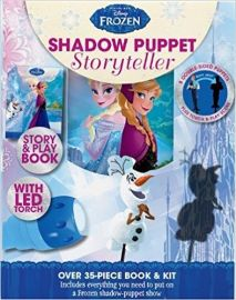 Disney Frozen SHADOW PUPPET STORYTELLER story & play book with LED torch