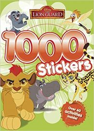 Disney The Lionguard 1000 STICKERS over 60 activities inside!