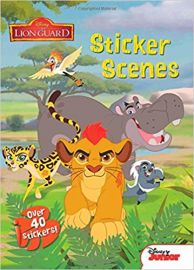 Disney Junior the Lionguard STICKER SCENES over 40 stickers