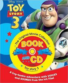Disney Pixar STORYBOOK & CD Series TOY STORY 3 BOOK & CD The Original Movie Collection