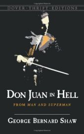 Dover Thrift Editions : DON JUAN IN HELL - From Man to Superman